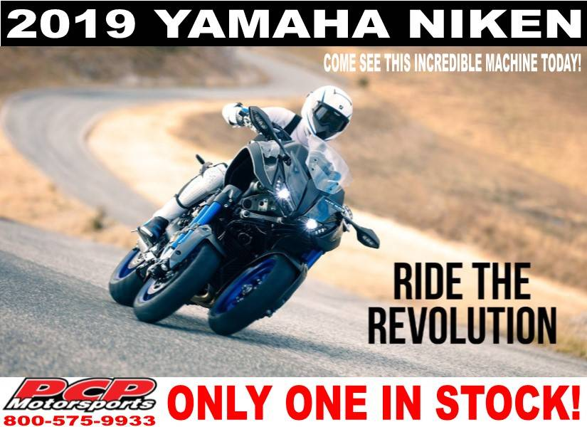 2019 Yamaha Niken in Sacramento, California
