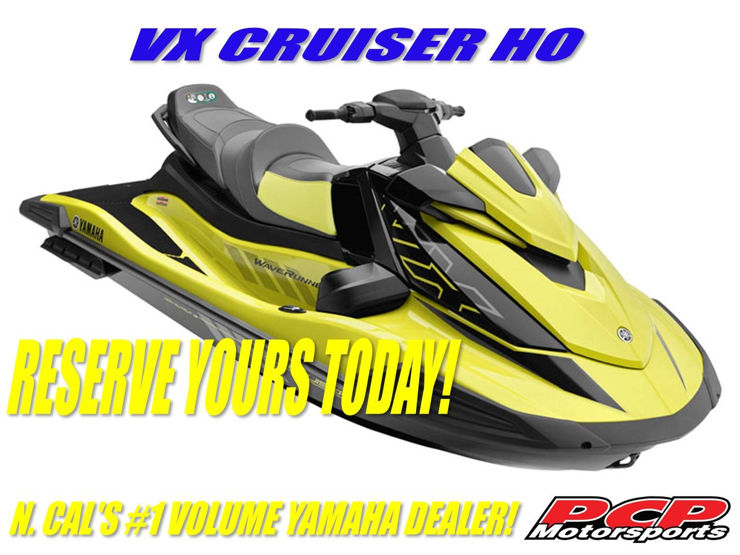 2021 Yamaha VX Cruiser HO in Sacramento, California