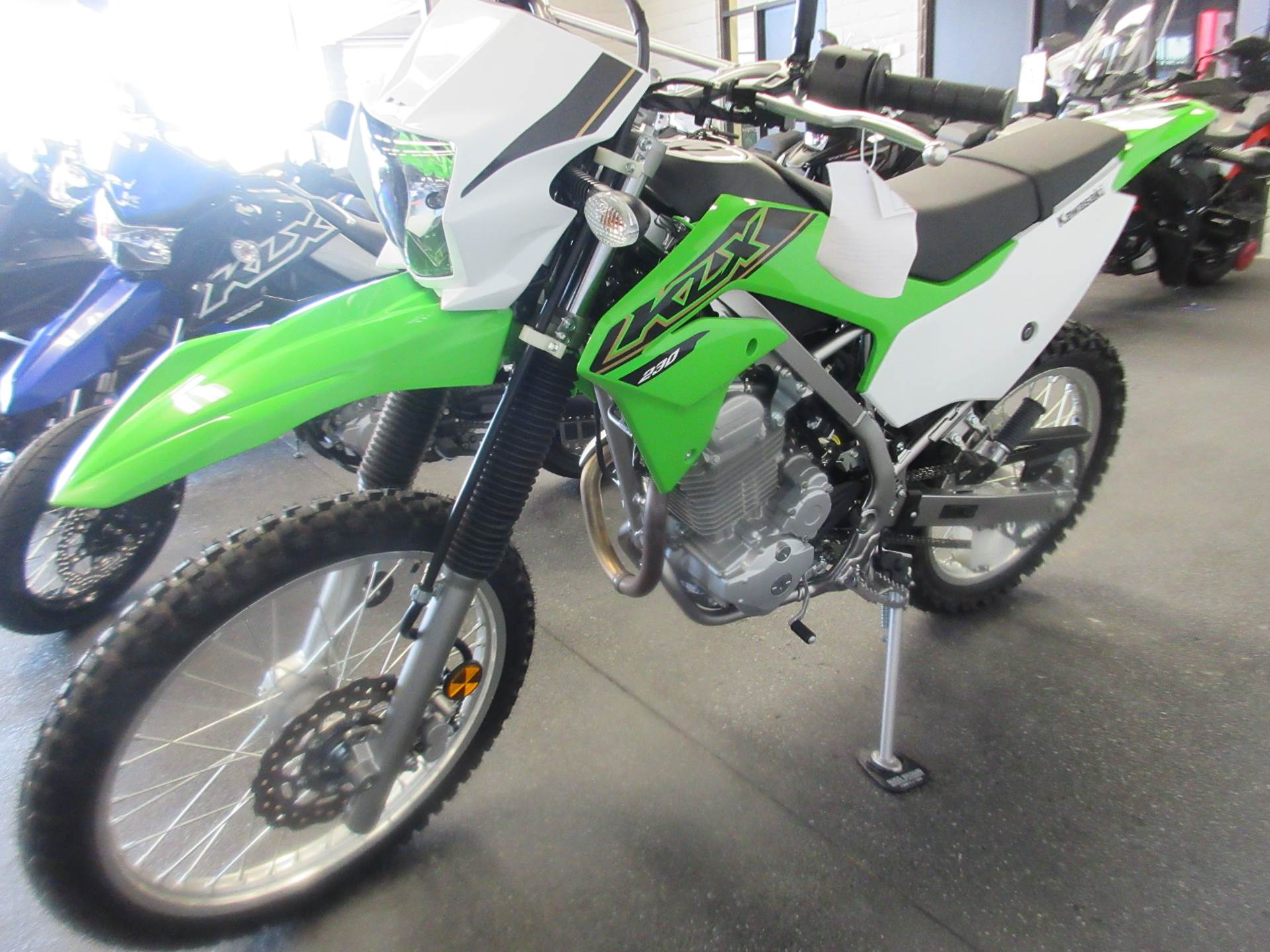 2021 Kawasaki KLX 230 in Sacramento, California - Photo 2