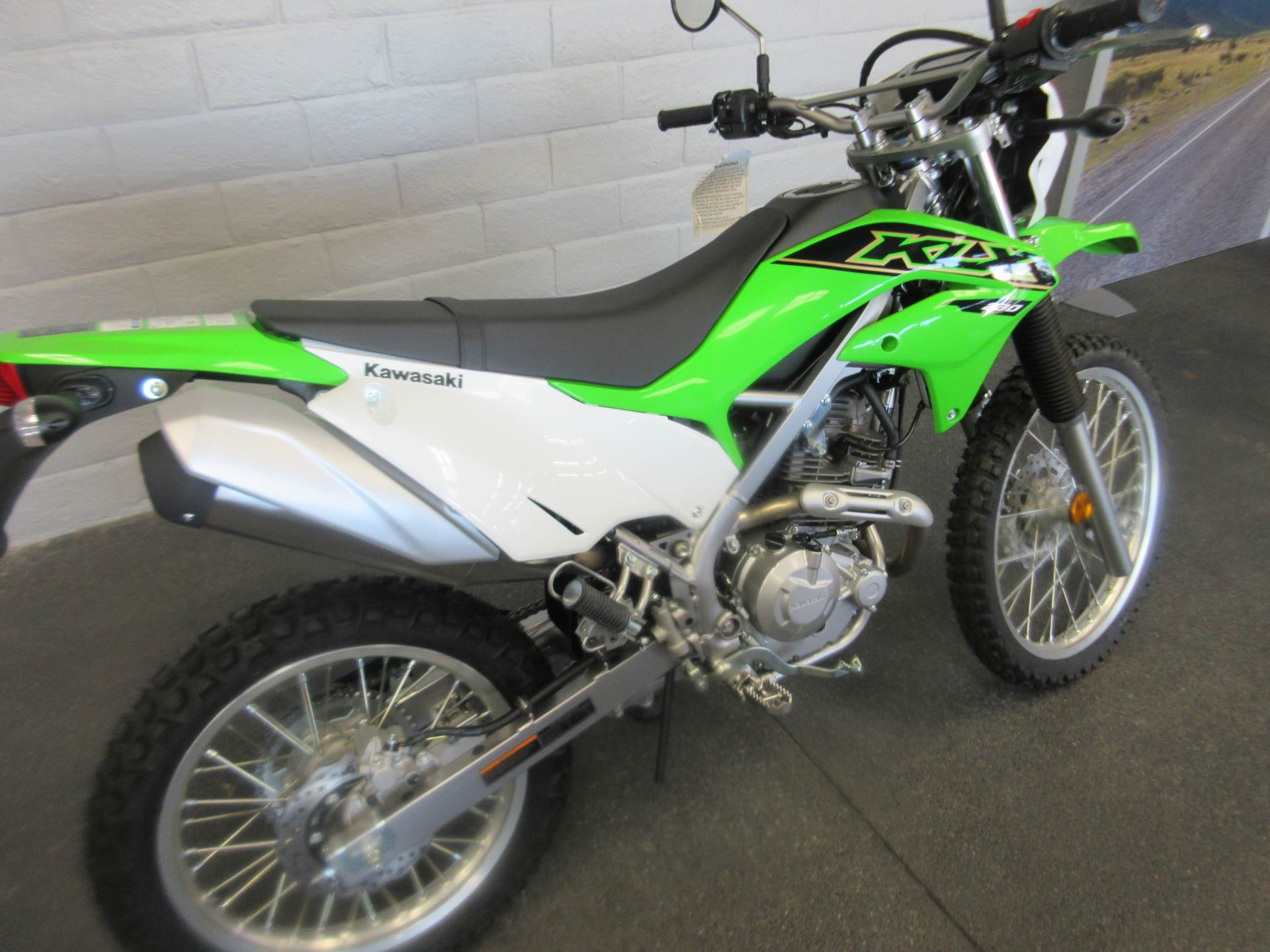 2021 Kawasaki KLX 230 in Sacramento, California - Photo 4