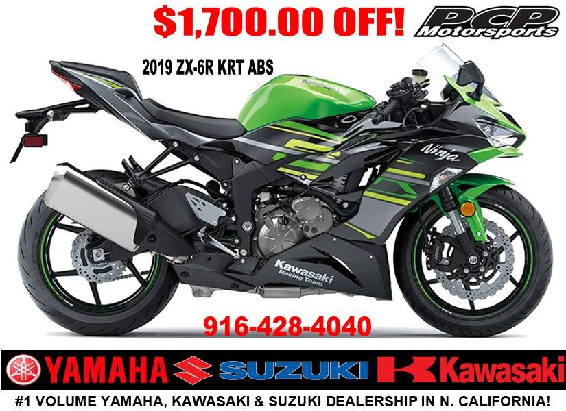 2019 Kawasaki Ninja ZX-6R ABS KRT Edition in Sacramento, California - Photo 1