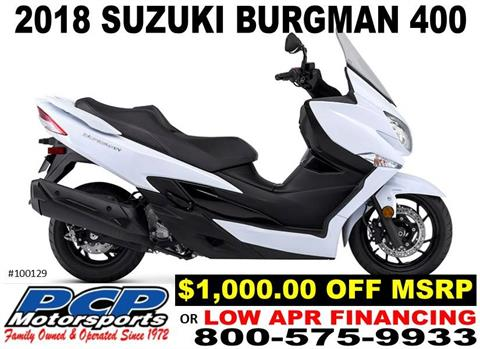 2018 Suzuki Burgman 400 ABS in Sacramento, California