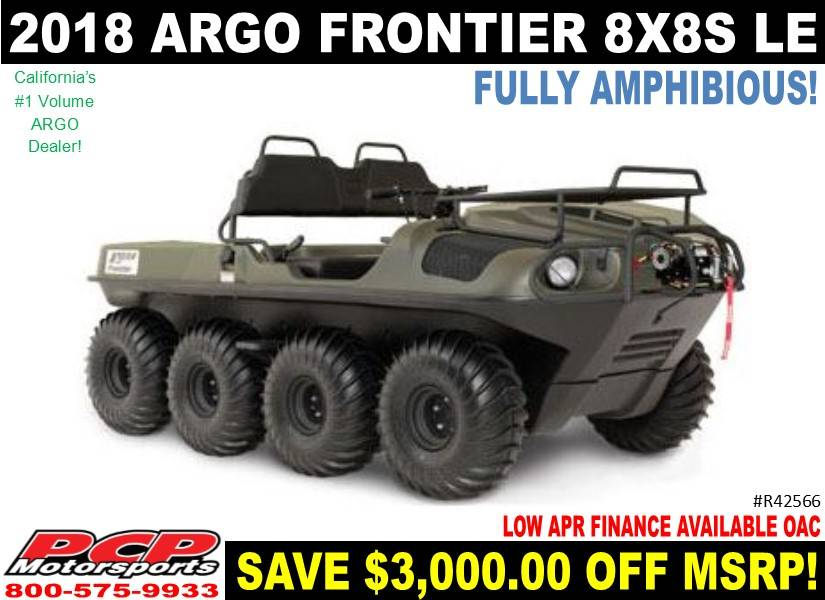 2018 Argo Frontier 8x8 S LE in Sacramento, California - Photo 1
