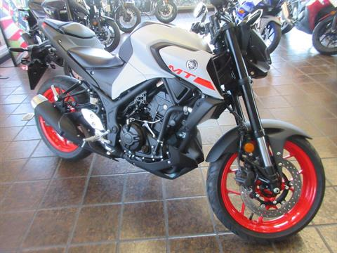 2020 Yamaha MT-03 in Sacramento, California - Photo 1