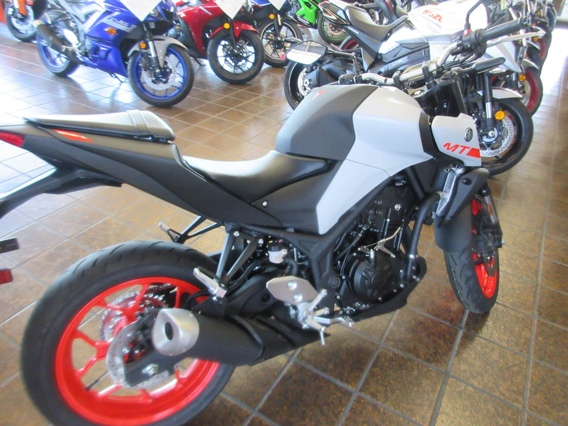 2020 Yamaha MT-03 in Sacramento, California - Photo 4