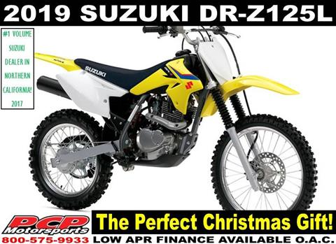 2019 Suzuki DR-Z125L in Sacramento, California