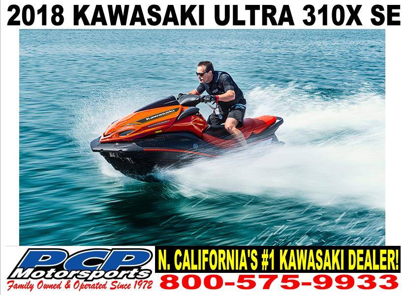 New 2018 Kawasaki Jet Ski Ultra 310X SE Watercraft in Sacramento, CA ...