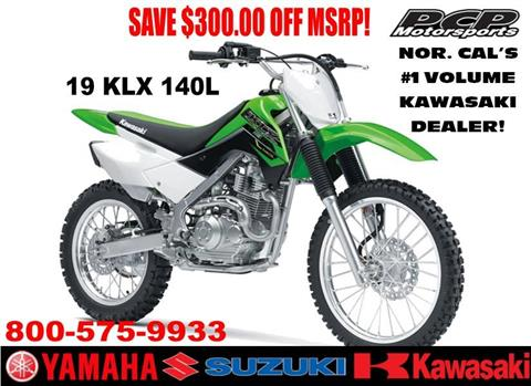 2019 Kawasaki KLX 140L in Sacramento, California - Photo 1