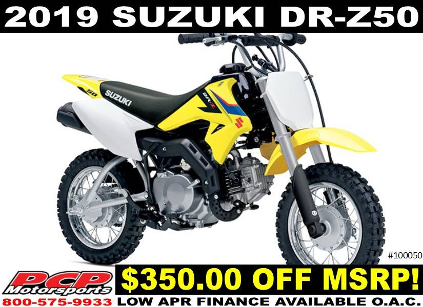 2019 Suzuki DR-Z50 in Sacramento, California - Photo 1