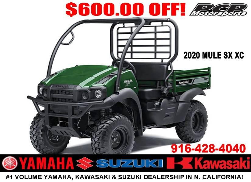 2020 Kawasaki Mule SX 4X4 XC FI for sale 275478