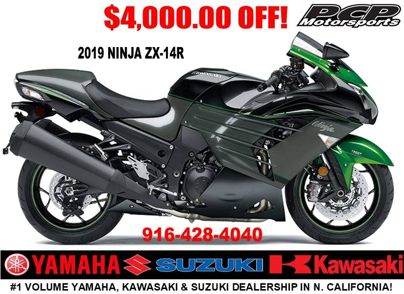 2019 Kawasaki Ninja ZX-14R in Sacramento, California - Photo 1