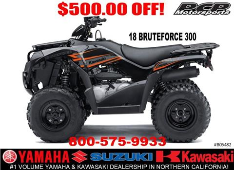 2018 Kawasaki Brute Force 300 in Sacramento, California - Photo 1