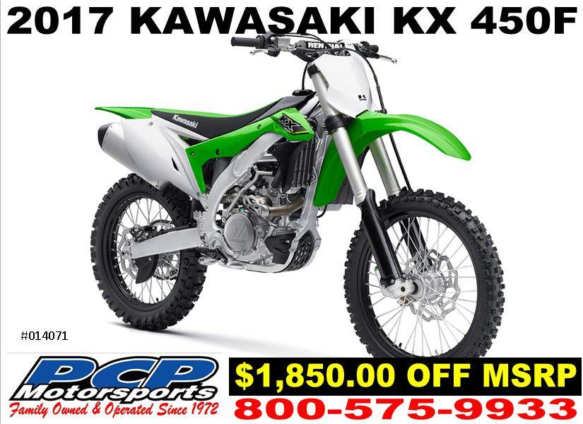 2017 Kawasaki KX450F in Sacramento, California