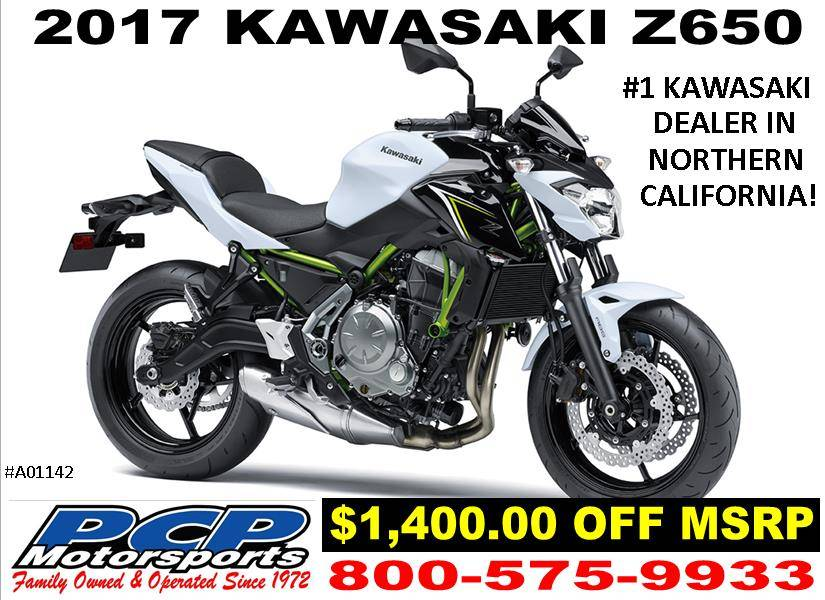 2017 Kawasaki Z650 in Sacramento, California