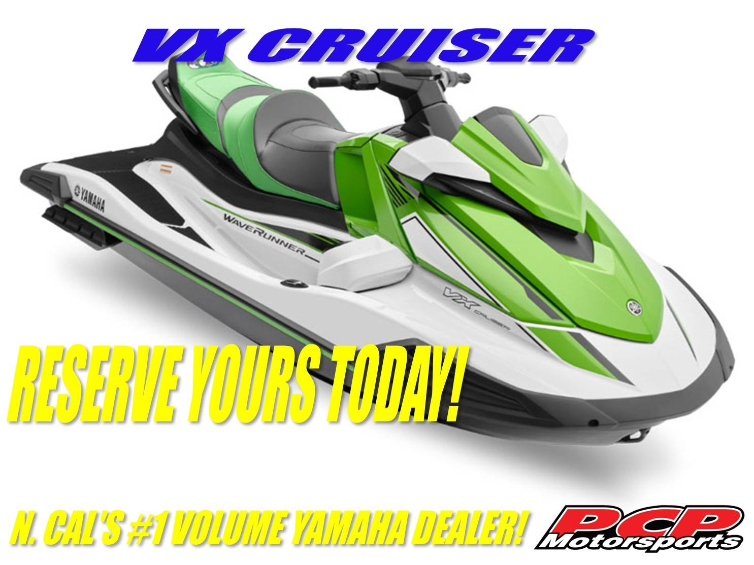 2021 Yamaha VX Cruiser in Sacramento, California - Photo 1