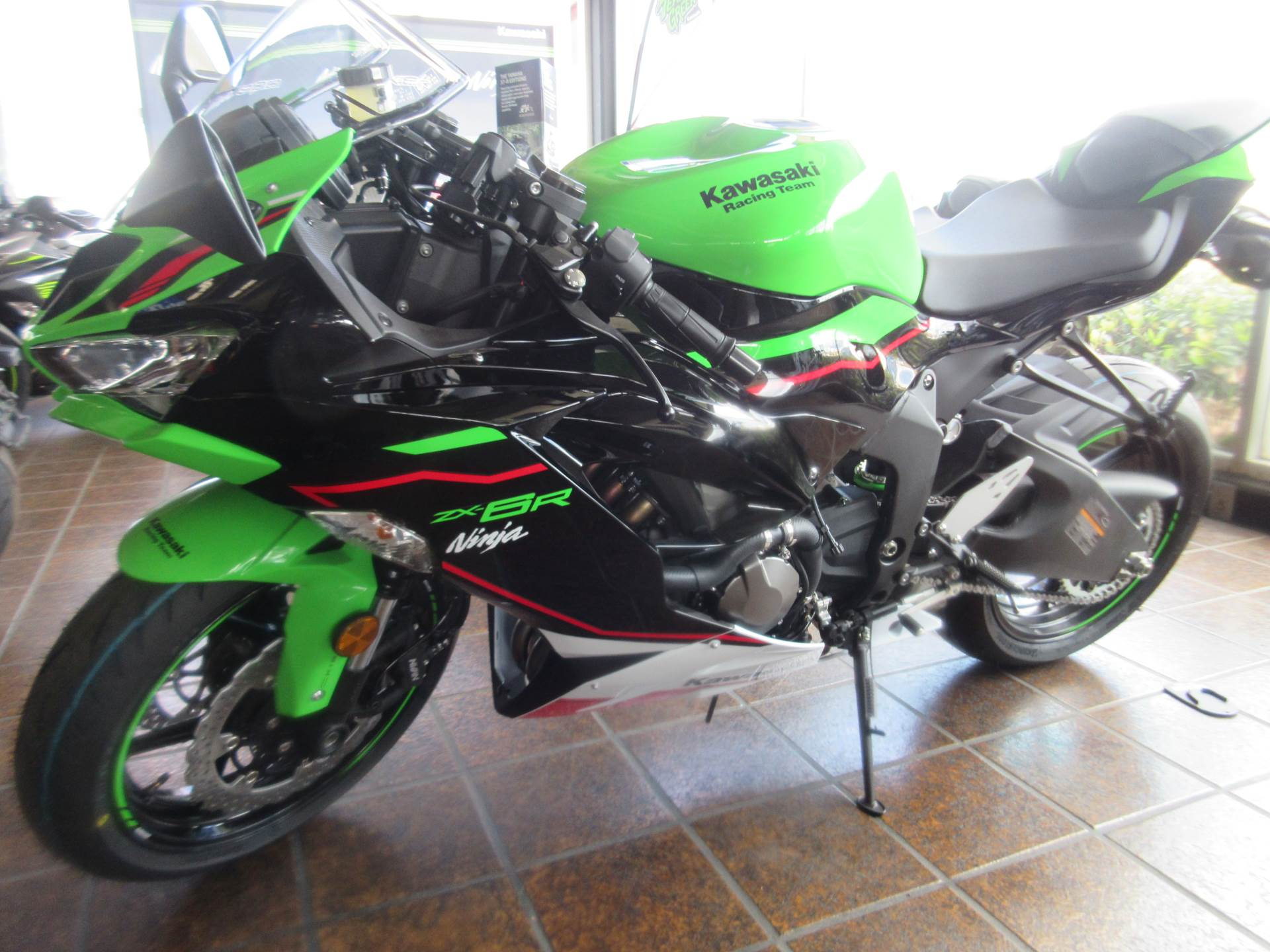 2021 Kawasaki Ninja ZX-6R ABS KRT Edition in Sacramento, California - Photo 2