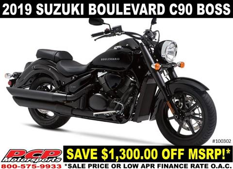 2019 Suzuki Boulevard C90 B.O.S.S. in Sacramento, California - Photo 1