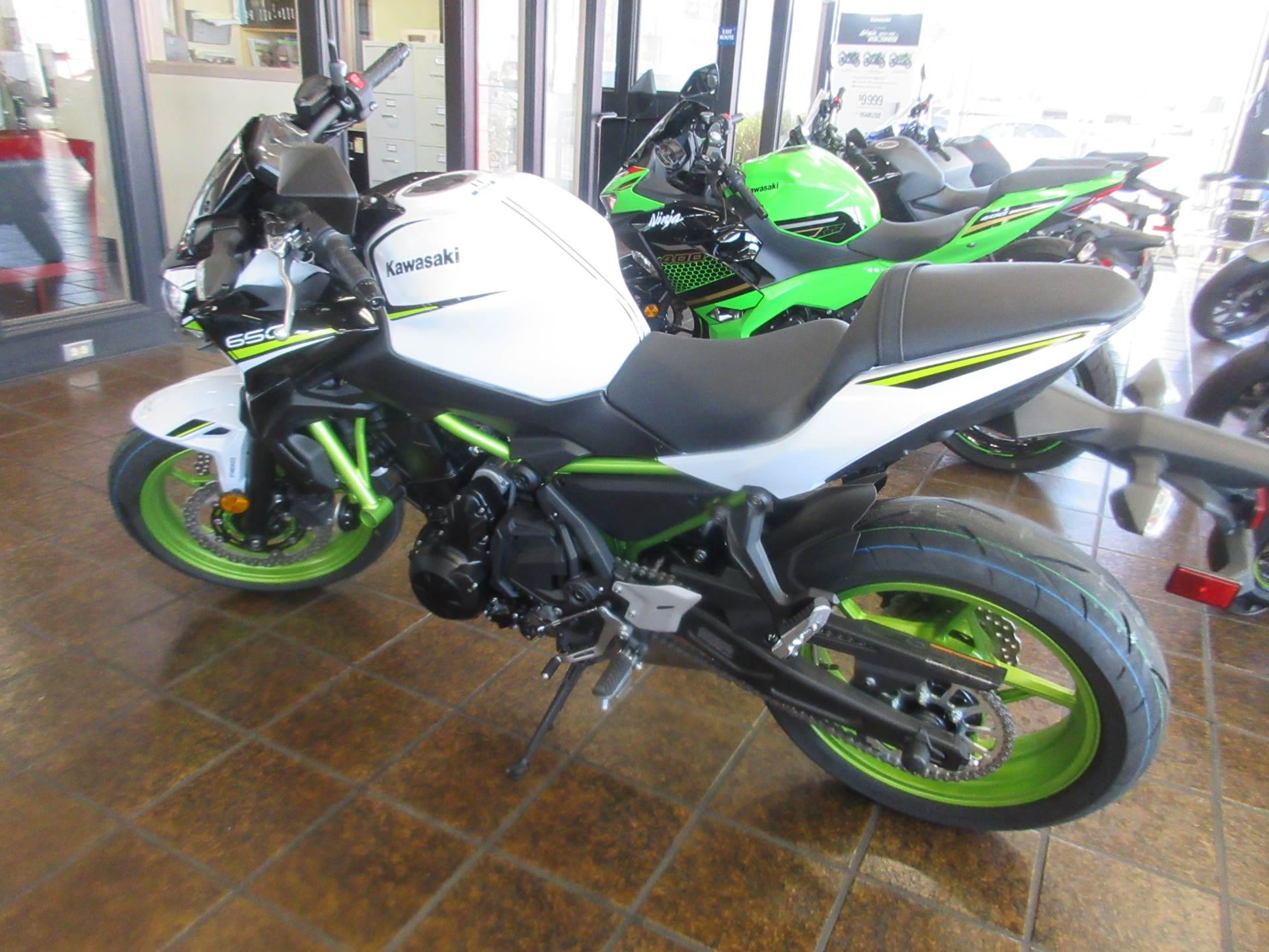 New 2021 Kawasaki Z650 ABS powersports in Salinas, CA