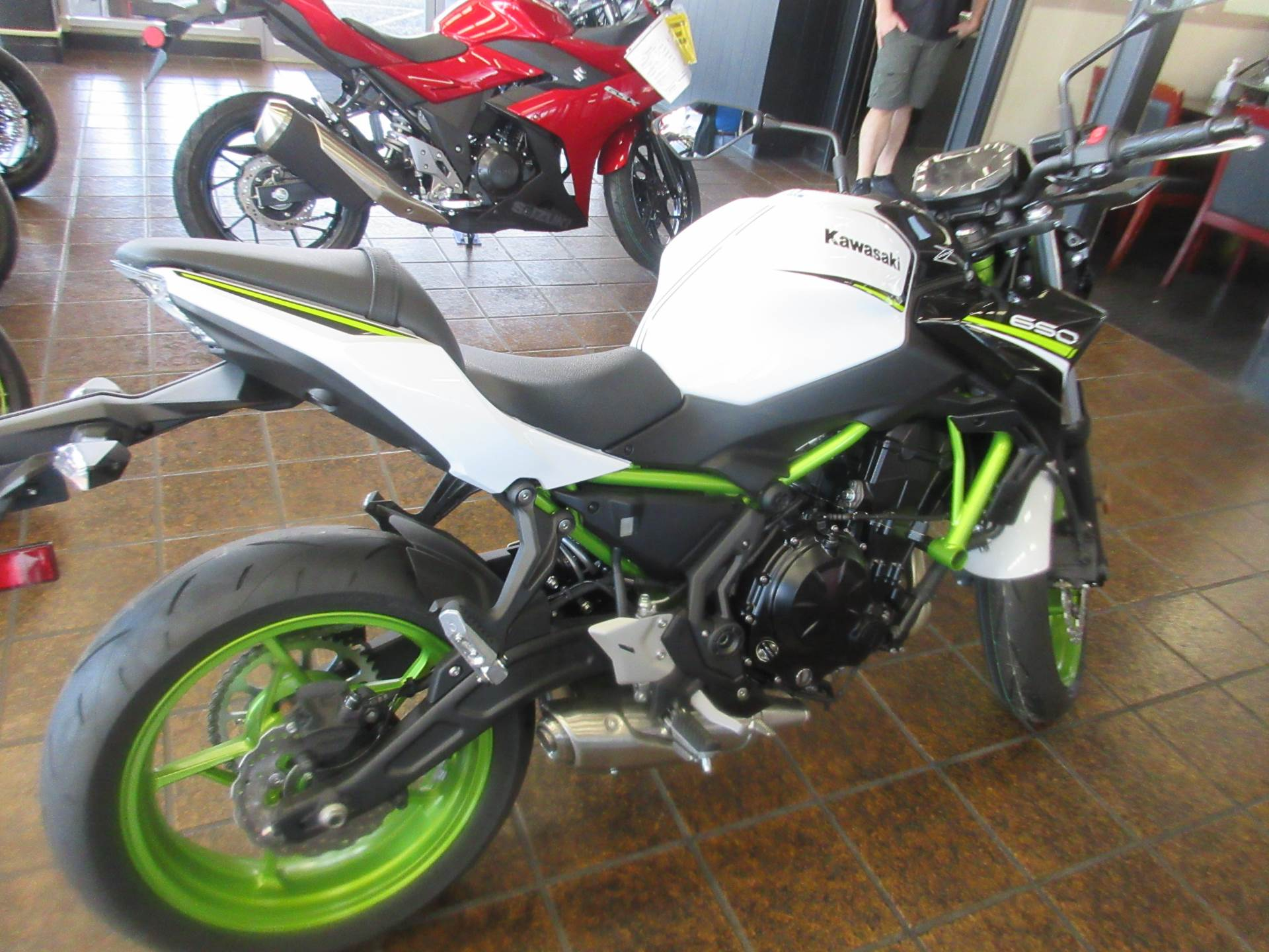 New 2021 Kawasaki Z650 ABS Motorcycles in Bellevue, WA