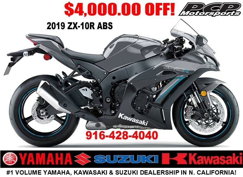 2019 Kawasaki Ninja ZX-10R ABS in Sacramento, California - Photo 1