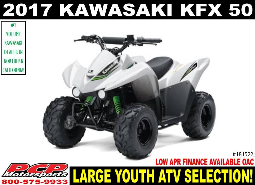 2017 Kawasaki KFX50 in Sacramento, California