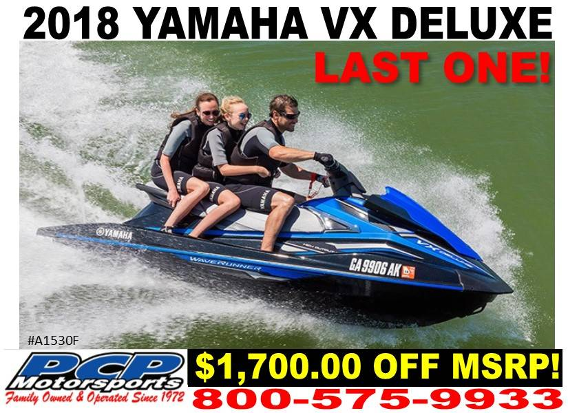 2018 Yamaha VX Deluxe for sale 235035