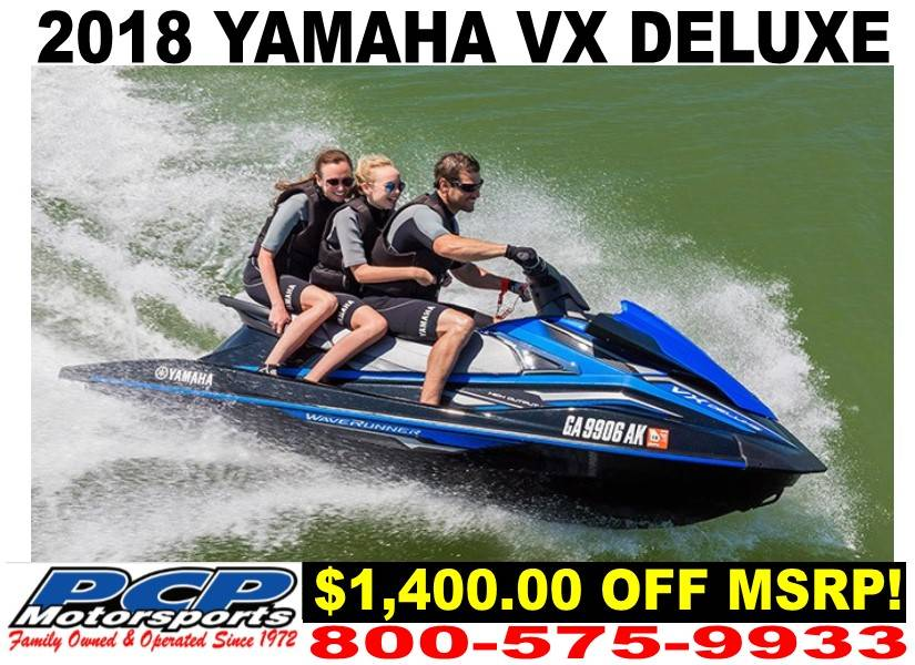2018 Yamaha VX Deluxe for sale 218914