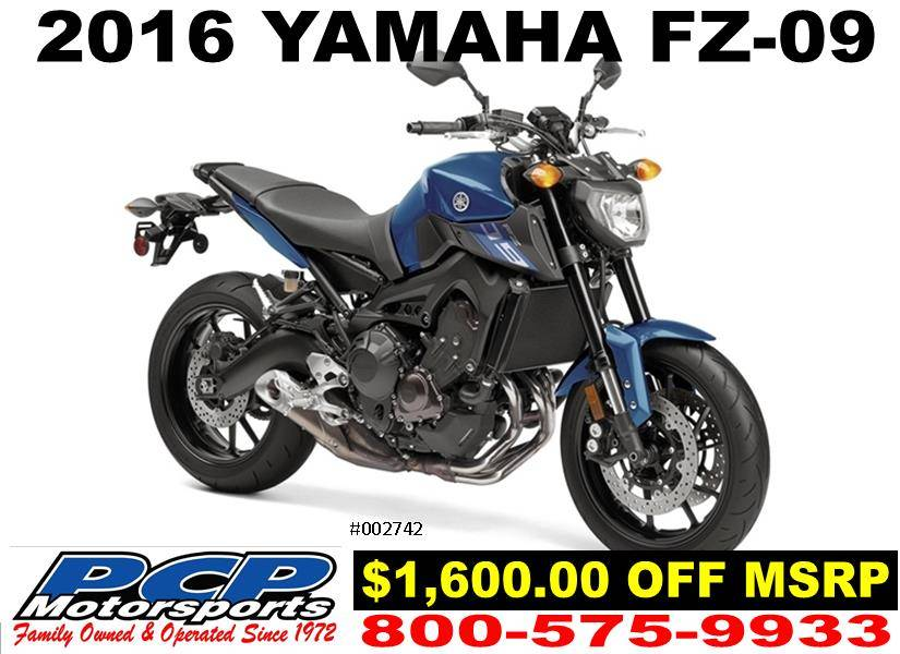 2016 Yamaha FZ-09 1