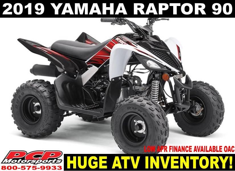 2019 Yamaha Raptor 90 for sale 252797