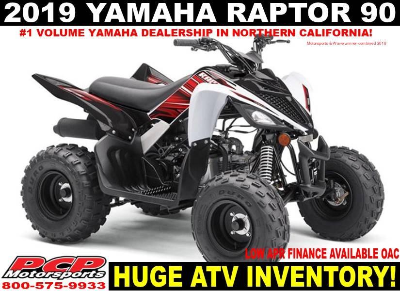 2019 Yamaha Raptor 90 In Sacramento California