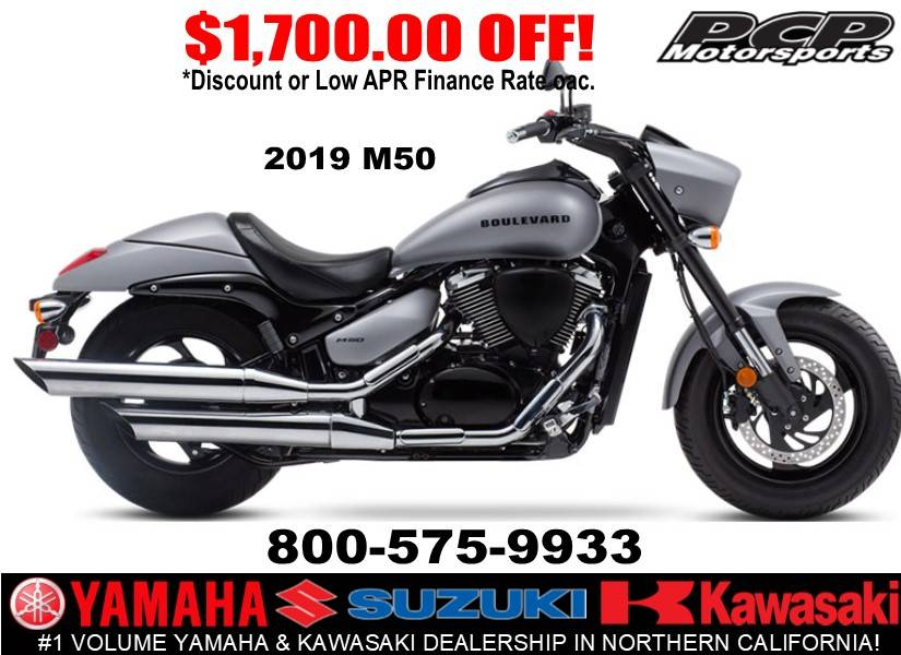 2019 Suzuki Boulevard M50 in Sacramento, California - Photo 1