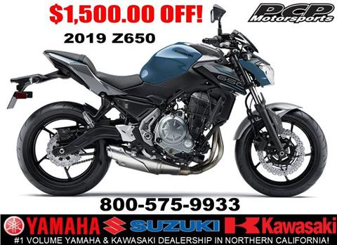 2019 Kawasaki Z650 ABS in Sacramento, California - Photo 1