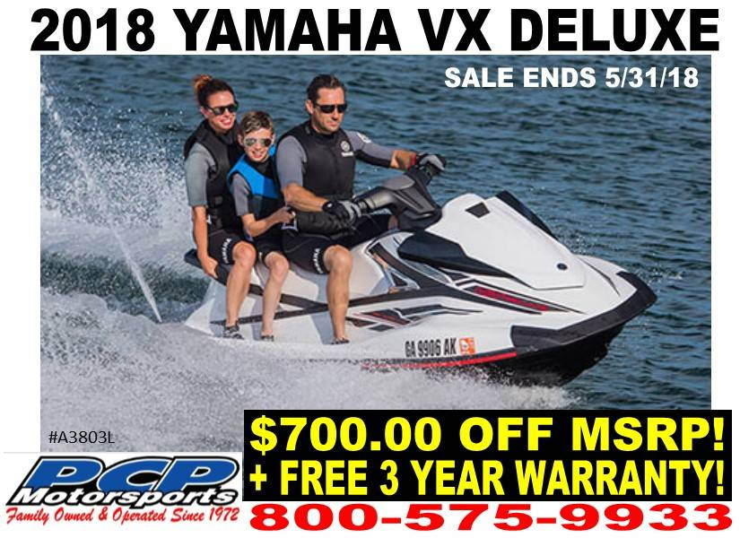 2018 Yamaha VX Deluxe for sale 195681