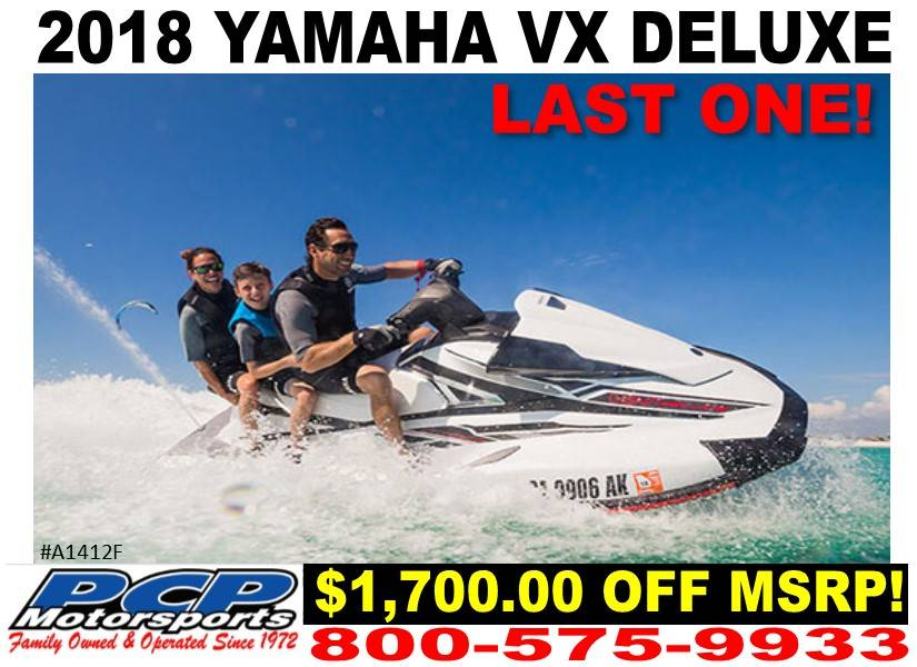 2018 Yamaha VX Deluxe for sale 218814