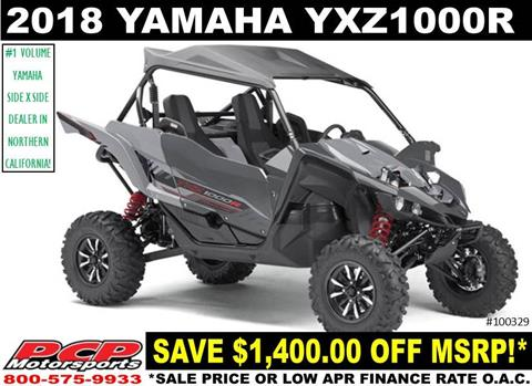 2018 Yamaha YXZ1000R in Sacramento, California