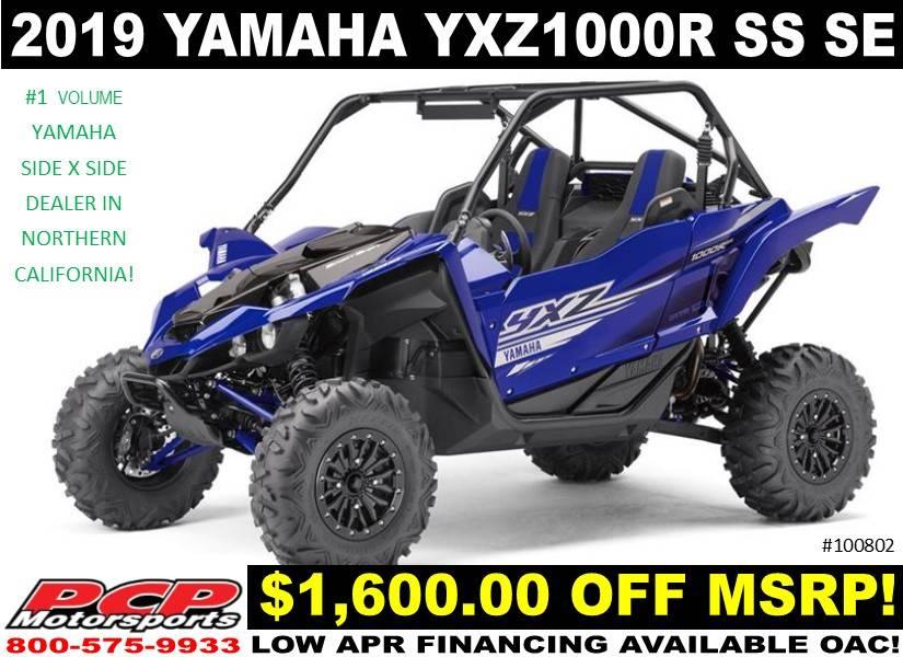 2019 Yamaha YXZ1000R SS SE for sale 57283