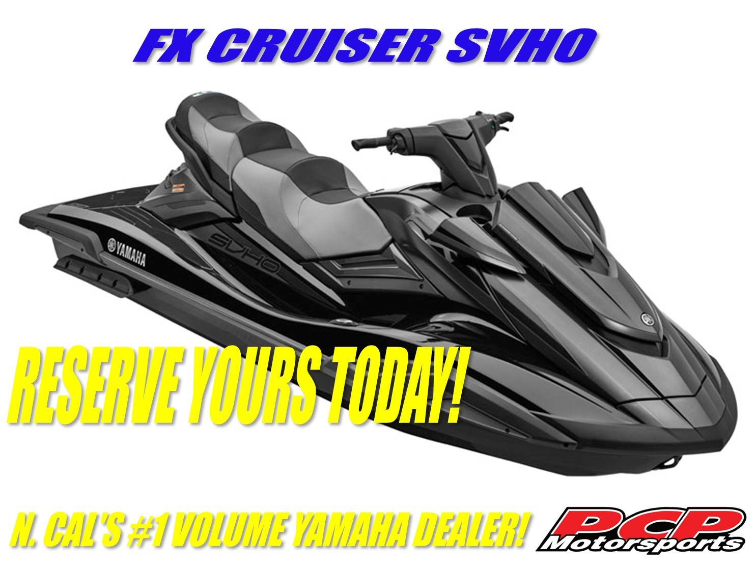 2021 Yamaha FX Cruiser SVHO in Sacramento, California - Photo 1