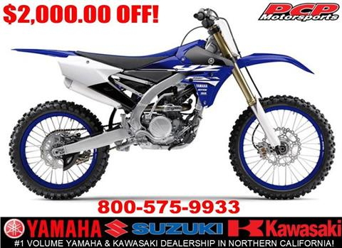 2018 Yamaha YZ250F in Sacramento, California - Photo 1