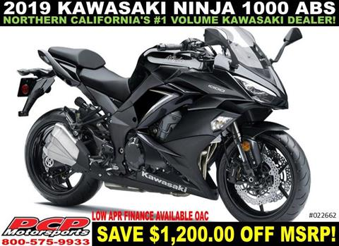 2019 Kawasaki Ninja 1000 ABS in Sacramento, California