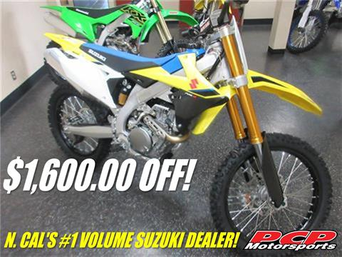 2020 Suzuki RM-Z450 in Sacramento, California - Photo 1