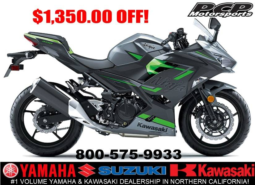 2019 Kawasaki Ninja 400 ABS in Sacramento, California - Photo 1