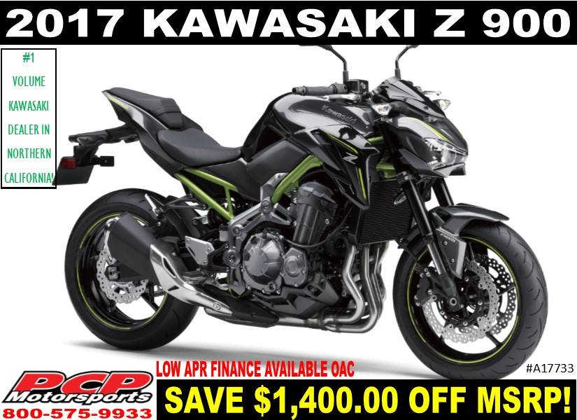 2017 Kawasaki Z900 in Sacramento, California