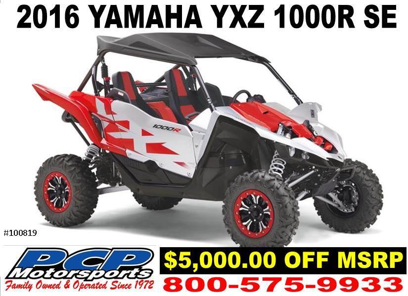 2016 Yamaha YXZ1000R SE for sale 16579