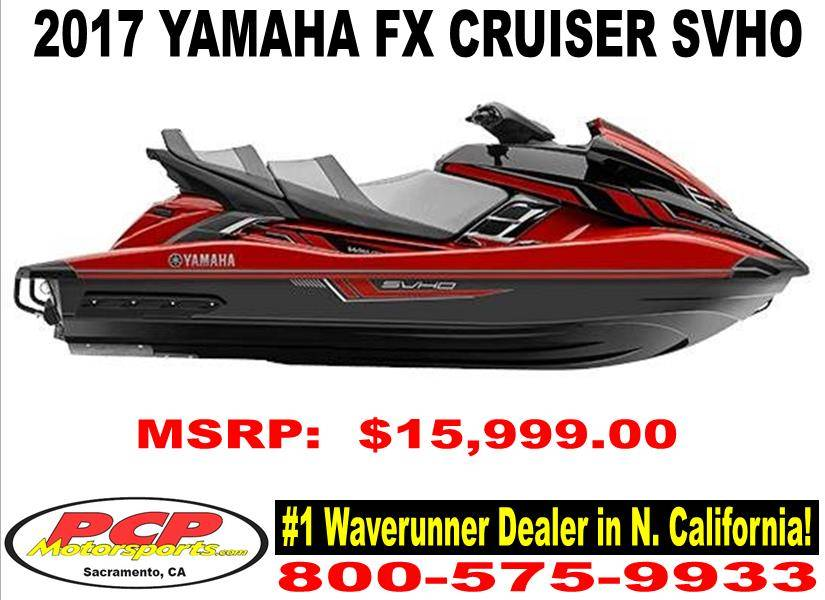 2017 Yamaha FX Cruiser SVHO for sale 27885