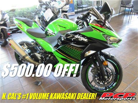 2020 Kawasaki Ninja 400 ABS KRT Edition in Sacramento, California - Photo 1