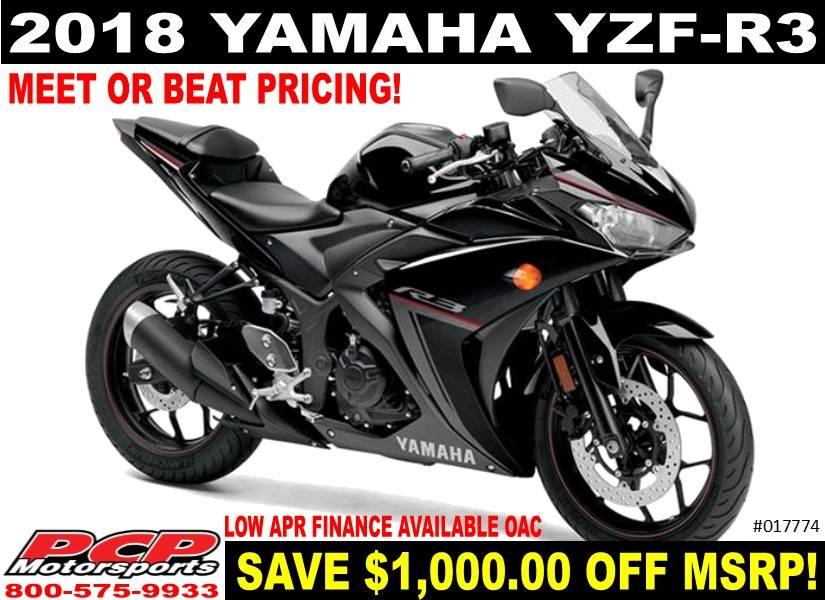 2018 Yamaha Yzf R3 In Sacramento California