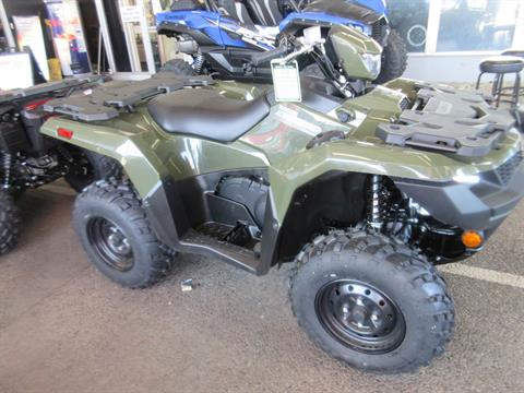 2021 Suzuki KingQuad 500AXi Power Steering in Sacramento, California - Photo 2
