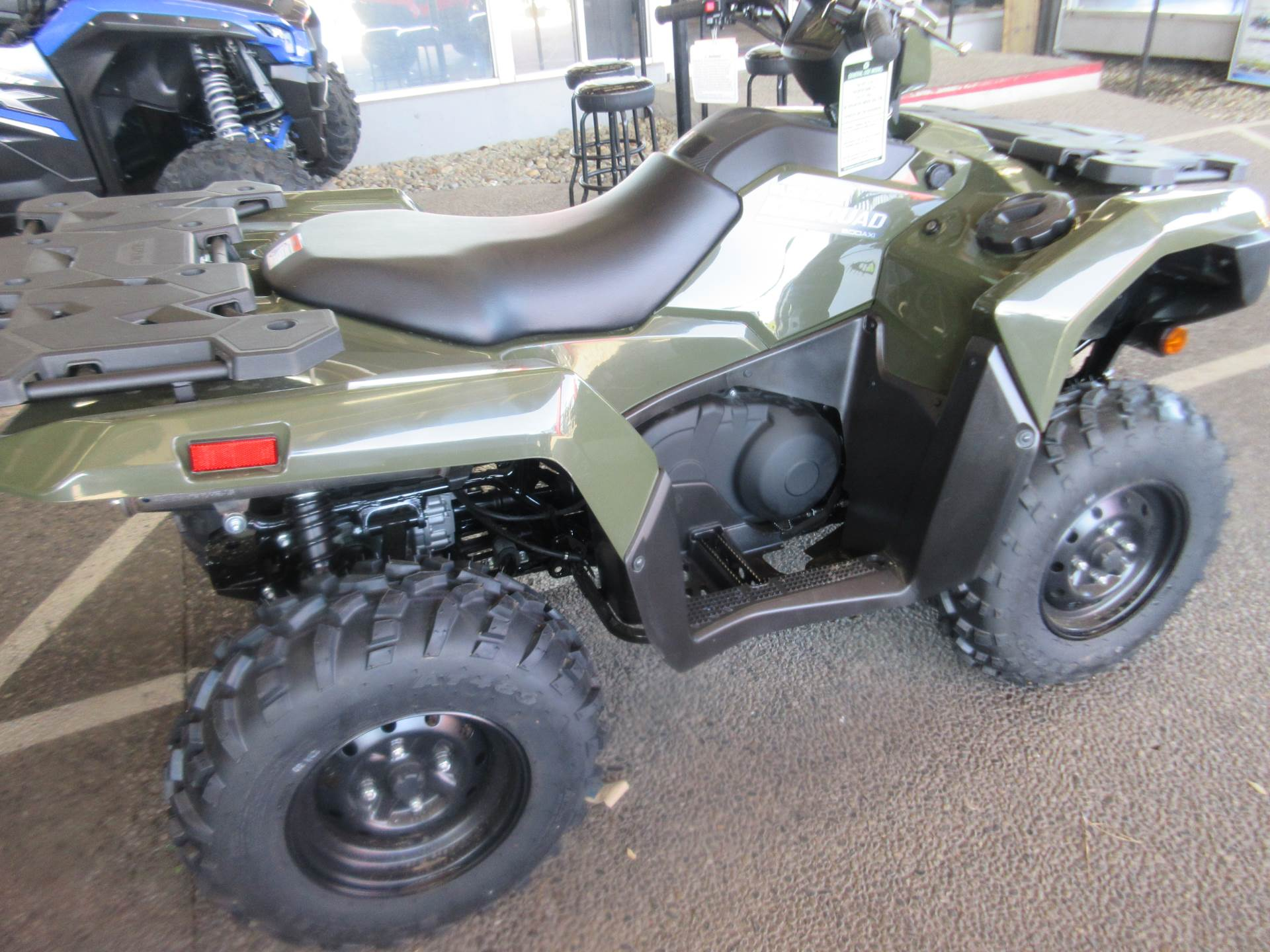 2021 Suzuki KingQuad 500AXi Power Steering in Sacramento, California - Photo 3