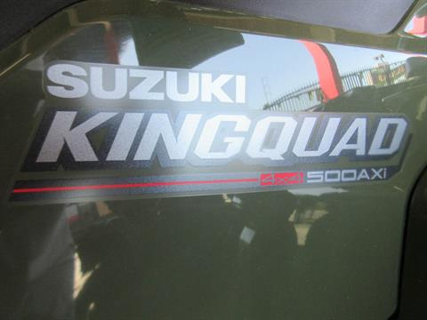 2021 Suzuki KingQuad 500AXi Power Steering in Sacramento, California - Photo 5