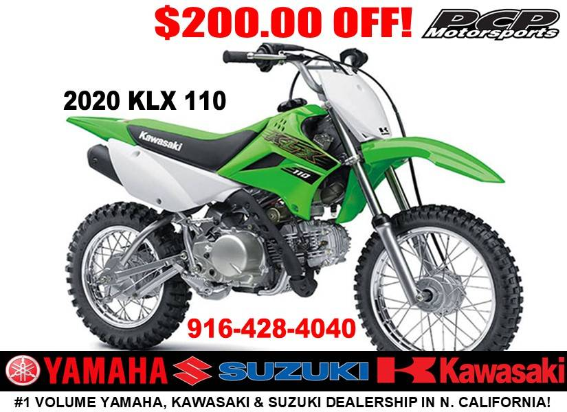 2020 Kawasaki KLX 110 in Sacramento, California - Photo 1